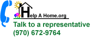 Talk To Help A Home 970-672-9764